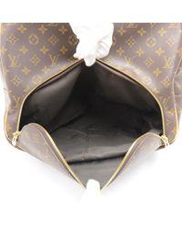 Louis Vuitton - Brown Evasion Monogram Canvas Large Travel Hand Bag - Lyst