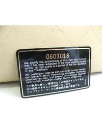 Chanel - Natural Auth Shoulder Bag Calf Leather Beige Tote Bag - Lyst