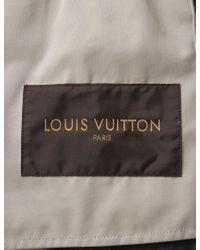 Louis Vuitton Multicolor Jacket Cotton Silk Leather Navy for men
