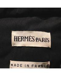 Hermès - Coat Black 40 - Lyst