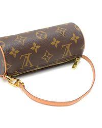Louis Vuitton - Brown Pochette Papillon Monogram Canvas Pouch - Lyst