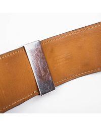 Hermès - Brown Manchette Homme En Lezard Marron - Lyst