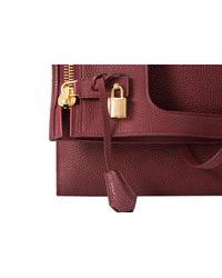 Tom Ford Red Medium Alix Shoulder Bag 41cm