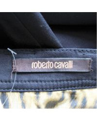 Roberto Cavalli - Black Pants - Lyst