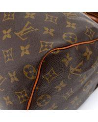 Louis Vuitton - Brown Vintage Speedy 25 Monogram Canvas City Hand Bag - Lyst