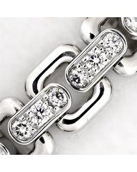 Louis Vuitton - Metallic Berg Chain Attraction Ring 18k K18 Wg 750 Size49 90019401.. - Lyst