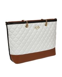 Moschino - White Multicolor Eco-leather Bag - Lyst