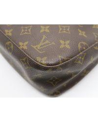 Louis Vuitton - Monogram Looping Mm Shoulder Bag Brown M51146 2380 - Lyst