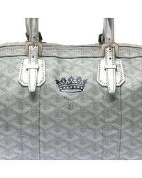 Goyard Metallic Bag Silver 35