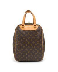 Louis Vuitton - Brown Vintage Excursion Monogram Canvas Travel Hand Bag - Lyst