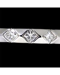 Louis Vuitton Metallic Alliance Monogram Infini Ring Diamond 18k Wg Size47 90037191..