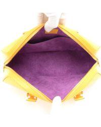 Louis Vuitton - Jasmin Yellow Epi Leather Hand Bag - Lyst