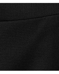 Reiss - Black Huxley Wrap Skirt - Lyst
