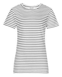 Reiss | Black Striped Toulouse Jersey T-shirt | Lyst