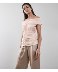 Reiss Multicolor Fabiana - Rouched Front Top