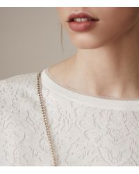 Reiss - White Primrose - Lyst