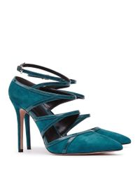 Reiss Natural Odin Multi-strap Shoes