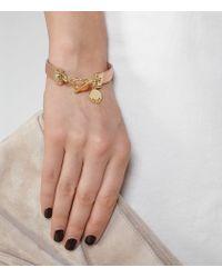 Reiss - Natural Pellie Reversible Leather Bracelet - Lyst
