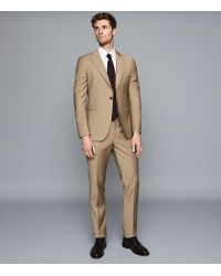 Reiss Natural Wool Modern Fit Suit for men
