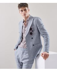 Reiss Multicolor Dapple - Liberty Print Slim-fit Shirt for men