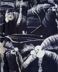 Vilebrequin Blue Printed Swim Shorts for men