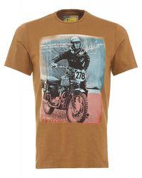 Barbour | Multicolor International Rickson Tee Sandstone Steve Mcqueentm T-shirt for Men | Lyst