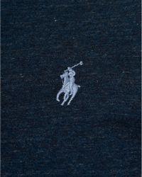 Ralph Lauren - Blue Plain T-shirt, Navy Heather Short Sleeve Tee for Men - Lyst