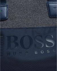 BOSS - Pixel M_holdall Bag, Nylon Navy Blue Gymbag for Men - Lyst