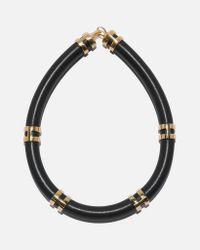 Lizzie Fortunato - Double Take Necklace In Black - Lyst