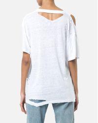 IRO Makla Tee-shirt In White