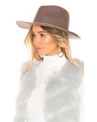 Hat Attack Brown Kelsey Hat