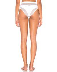 Kendall + Kylie - Multicolor X Revolve Mesh Highwaisted Bikini Bottom - Lyst