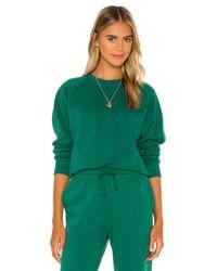 Richer Poorer Green Sweater mit rundem Ausschnitt