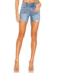 PAIGE Sarah デニムショートパンツ. Size 31. Blue