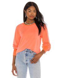 Sundry Raglan スウェットシャツ Orange