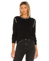 Theory Black Crew Neck Sweater