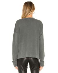 James Perse Relaxed スウェットシャツ Gray