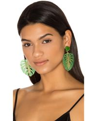 Mercedes Salazar Green Carmen Miranda Earrings