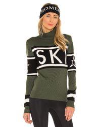 Perfect Moment Green Schild Sweater