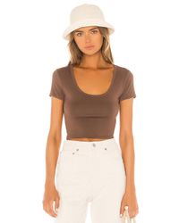 Lovers + Friends Coco トップ Brown