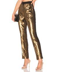 Nbd Metallic Dinara Cigarette Pants