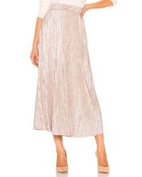 Free People Pink High Holiday Skirt