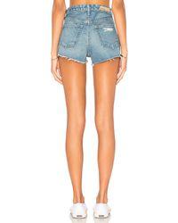 GRLFRND Blue Cindy High-rise Short. - Size 28 (also