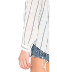 Joe's Jeans White Sophie Blouse
