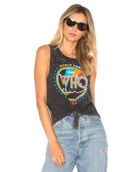 Chaser - Black David The Who World Tour 1968 Tank - Lyst
