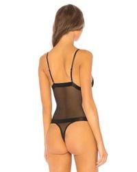 Ow Intimates - Black Isabel Bodysuit - Lyst