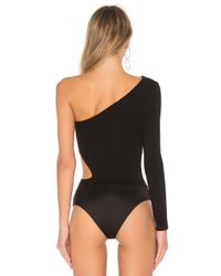 h:ours Black Karly Bodysuit