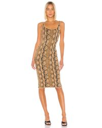 LPA Brown Alex Dress
