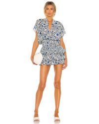 MISA Los Angles Eloisa ドレス In Blue. Size L.