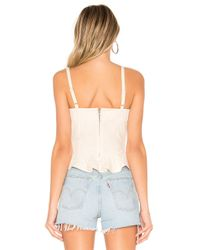 Lovers + Friends Natural Stacey Top